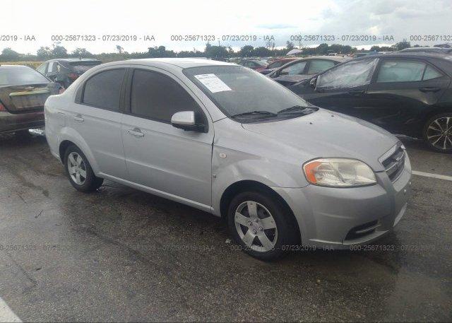 Inventory #285318893 2008 Chevrolet AVEO
