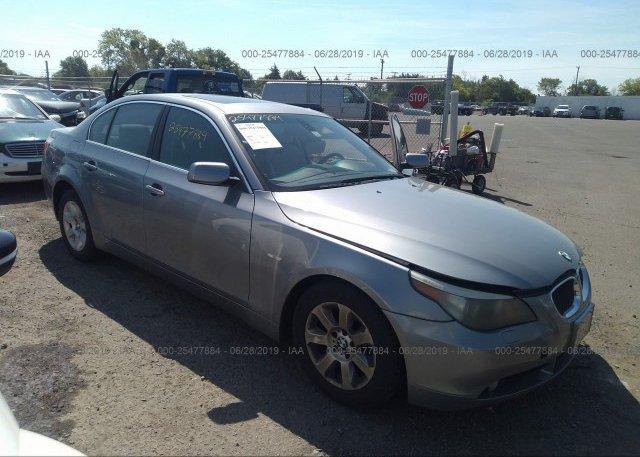 Inventory #191318461 2005 BMW 525