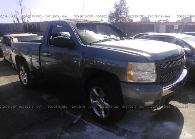 Inventory #827422503 2007 Chevrolet SILVERADO