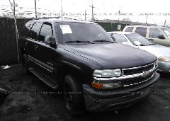 2002 Chevrolet TAHOE - 1GNEK13Z62J206198 Left View