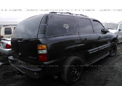 2002 Chevrolet TAHOE - 1GNEK13Z62J206198 rear view