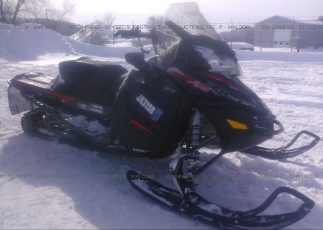 Reg Card black Ski-Doo Snowmobile at SAINT PAUL, MN on