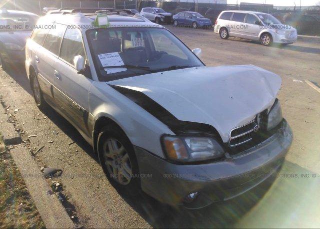 Inventory #972834204 2002 Subaru LEGACY