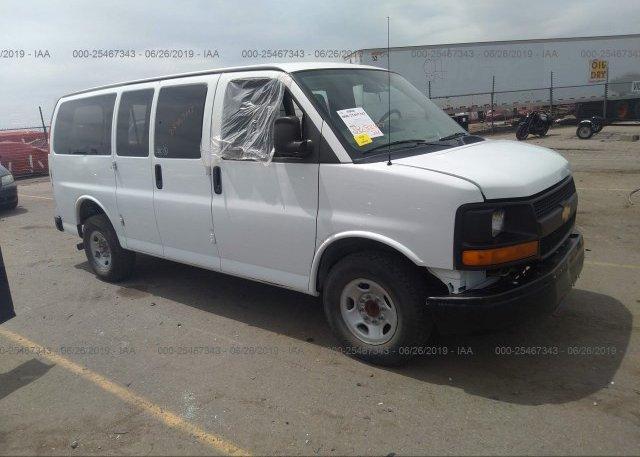 Inventory #801452707 2013 Chevrolet EXPRESS G3500