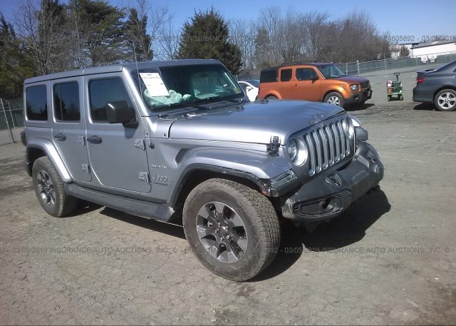 Inventory #866422578 2018 JEEP WRANGLER UNLIMITE