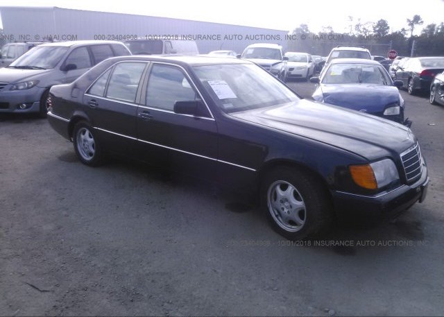 Inventory #243384661 1992 MERCEDES BENZ 400