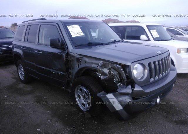 1c4njrbb1dd271847 Salvage Gray Jeep Patriot At Phoenix Az On