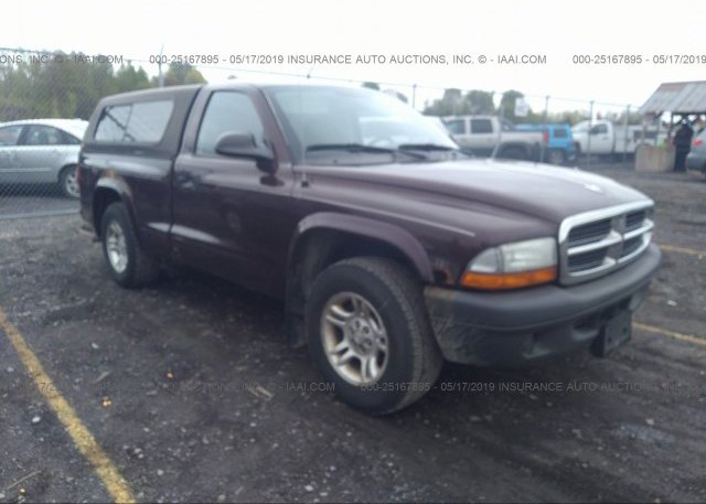 Inventory #301319565 2004 Dodge DAKOTA