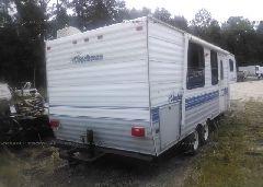 1995 COACHMEN TRAVEL TRAILER - 1TC3B017XS3000418 rear view