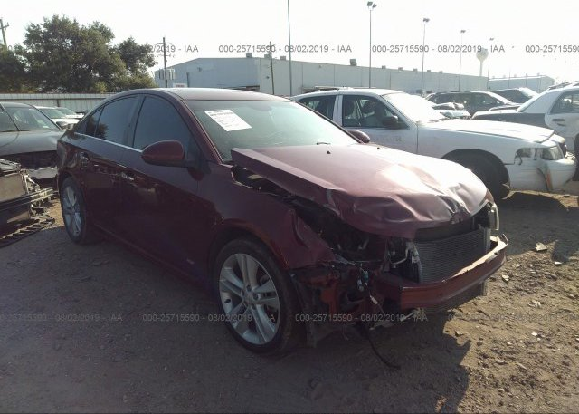 Inventory #475682813 2016 Chevrolet CRUZE LIMITED
