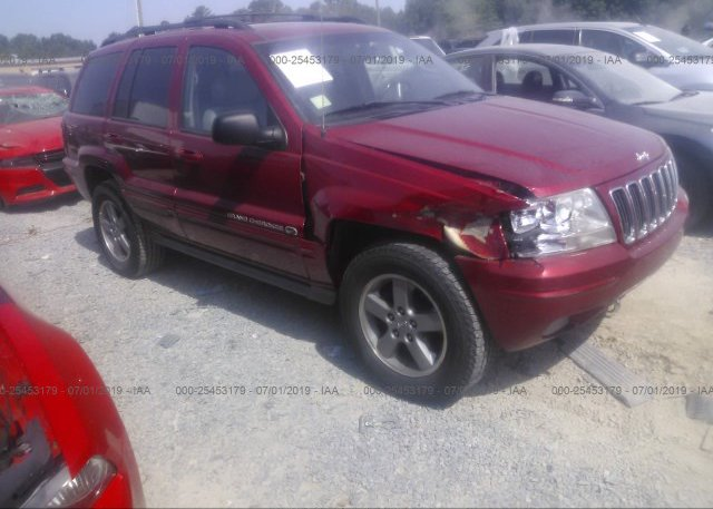 Inventory #676763371 2002 JEEP GRAND CHEROKEE