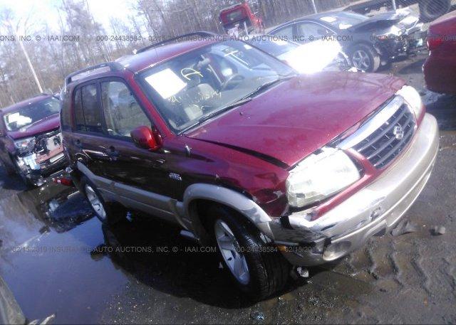 Inventory #993897009 2003 Suzuki GRAND VITARA