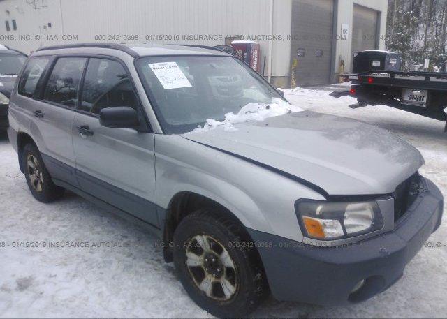 Inventory #752034627 2005 Subaru FORESTER