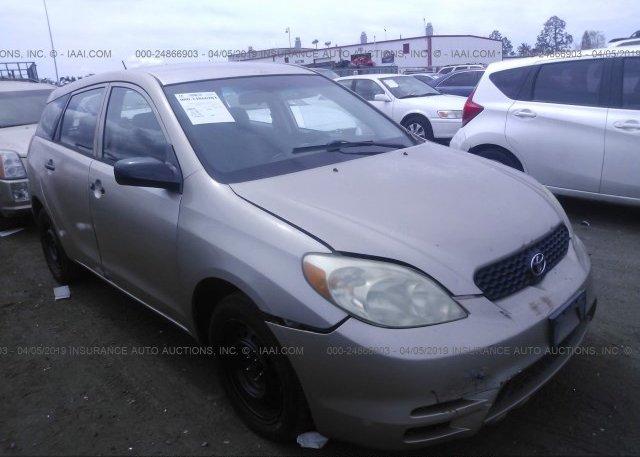 Inventory #329670306 2003 Toyota COROLLA MATRIX