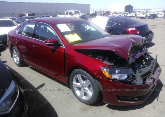 Inventory #356892822 2015 Volkswagen PASSAT