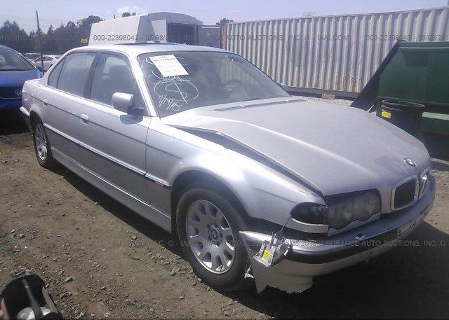 Inventory #851318625 2001 BMW 740