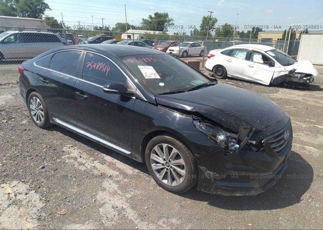 Inventory #872413106 2015 Hyundai SONATA