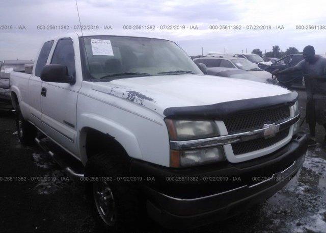 Inventory #749016452 2004 Chevrolet SILVERADO