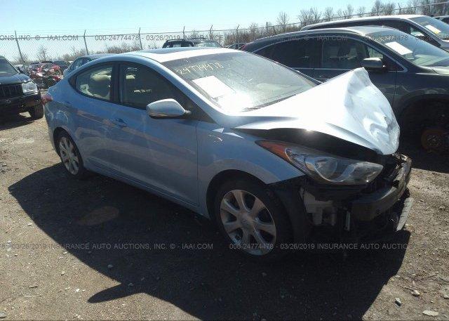 Inventory #487750423 2011 Hyundai ELANTRA