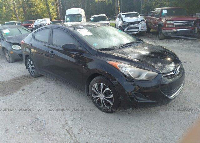 Inventory #222545503 2012 Hyundai ELANTRA