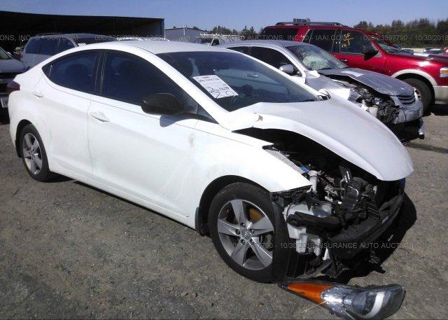 Inventory #225933145 2013 Hyundai ELANTRA