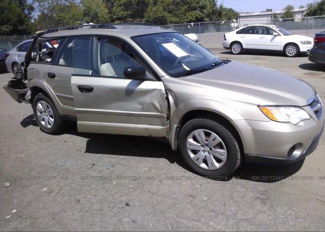 Inventory #311978692 2008 Subaru OUTBACK