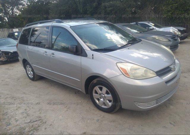 Inventory #996565694 2005 Toyota SIENNA