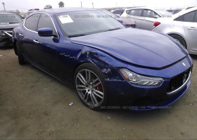 Inventory #896988673 2015 Maserati GHIBLI