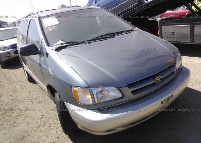 Inventory #899949217 2000 Toyota SIENNA