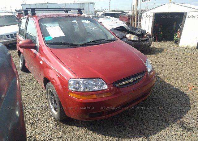 Inventory #255204588 2008 Chevrolet AVEO