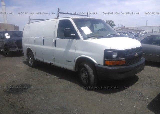 Inventory #504399828 2005 Chevrolet EXPRESS G2500