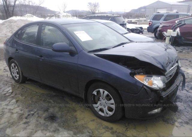Inventory #904278446 2009 Hyundai ELANTRA