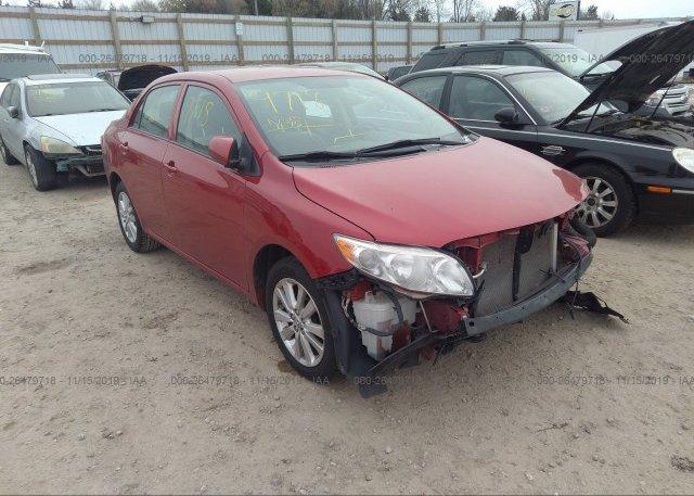 Inventory #840711840 2010 Toyota COROLLA