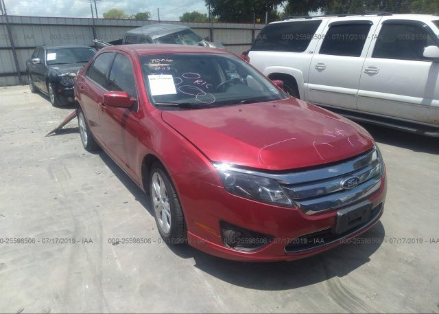 Inventory #866602425 2012 FORD FUSION