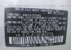 2014 Subaru FORESTER - JF2SJAEC6EH469778 engine view