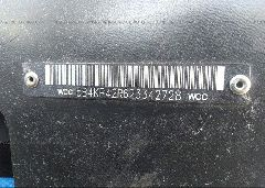 2002 WORKHORSE CUSTOM CHASSIS FORWARD CONTROL C - 5B4KP42R623342728 engine view