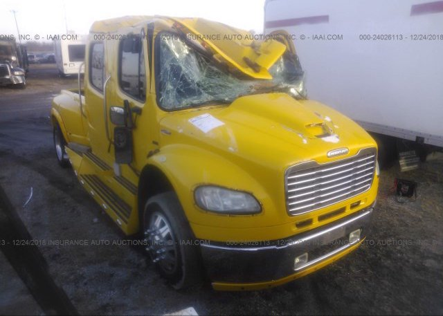 Bidding Ended On 1fvafcdk87hy20407 Salvage Freightliner M2 Sport