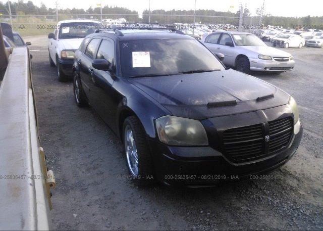 Inventory #877491040 2005 Dodge MAGNUM