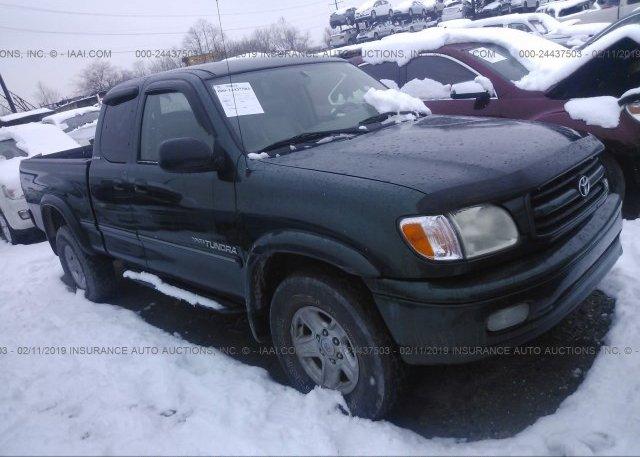 Inventory #244727901 2001 Toyota TUNDRA