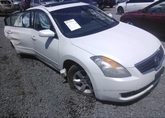 1n4al21e38n436301 Salvage White Nissan Altima At Scott Ar On