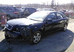 2002 AUDI A6 - WAULT64B82N033138 Right View
