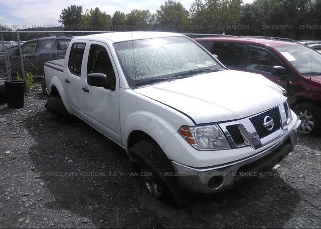 1n6ad0ev3gn747924 Salvage White Nissan Frontier At Tucson Az On