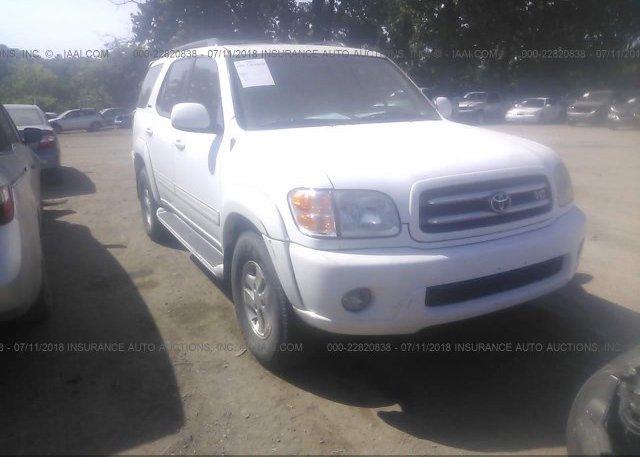 Inventory #511251743 2002 Toyota SEQUOIA