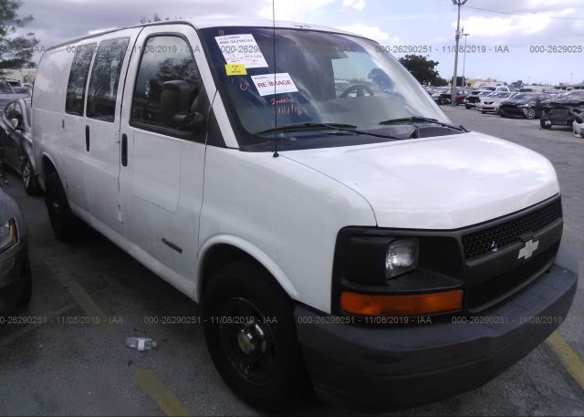 Inventory #839580752 2003 Chevrolet EXPRESS G2500