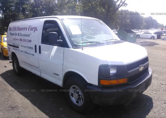 Inventory #786444017 2005 Chevrolet EXPRESS G2500