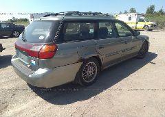 2003 Subaru LEGACY - 4S3BH635837300845 rear view