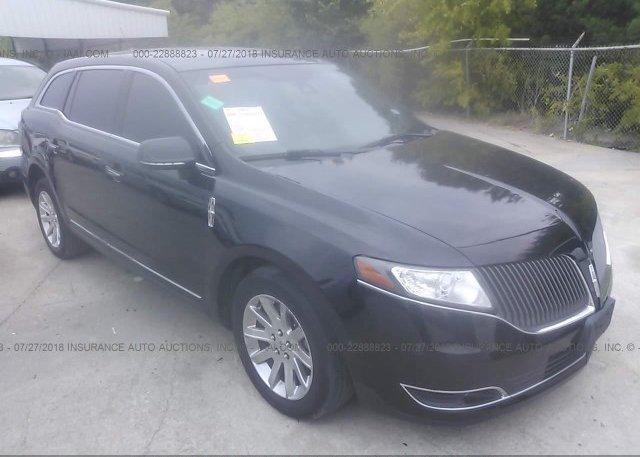2LMHJ5NK2DBL56168, Clear black Lincoln Mkt at GRAND PRAIRIE, TX on ...