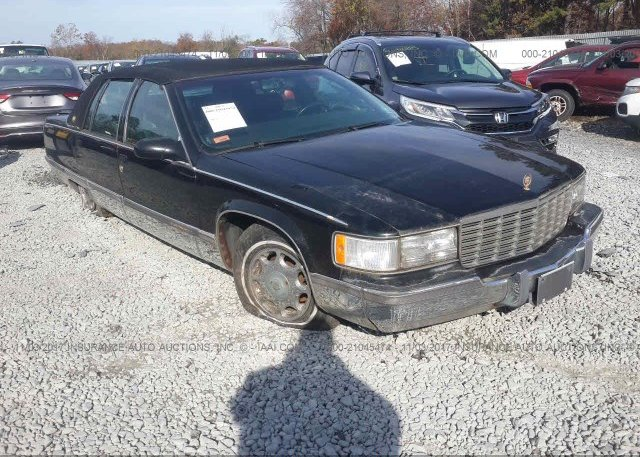 Bidding Ended On 1g6dw52p3sr710650 Salvage Cadillac Fleetwood At