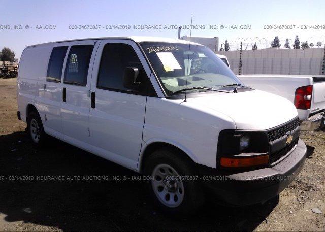 Inventory #669102399 2011 Chevrolet EXPRESS G1500