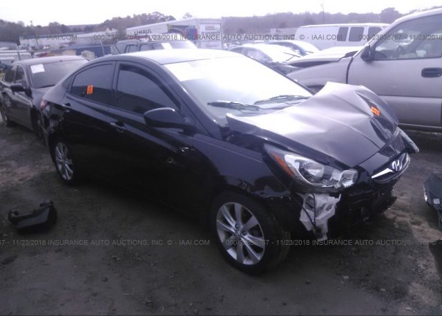 Inventory #318053304 2013 HYUNDAI ACCENT